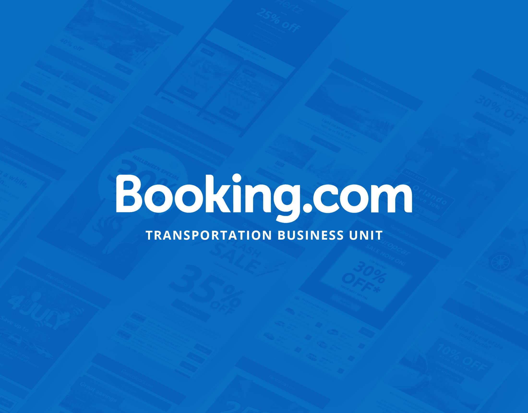 Booking.com Transportation Business Unit